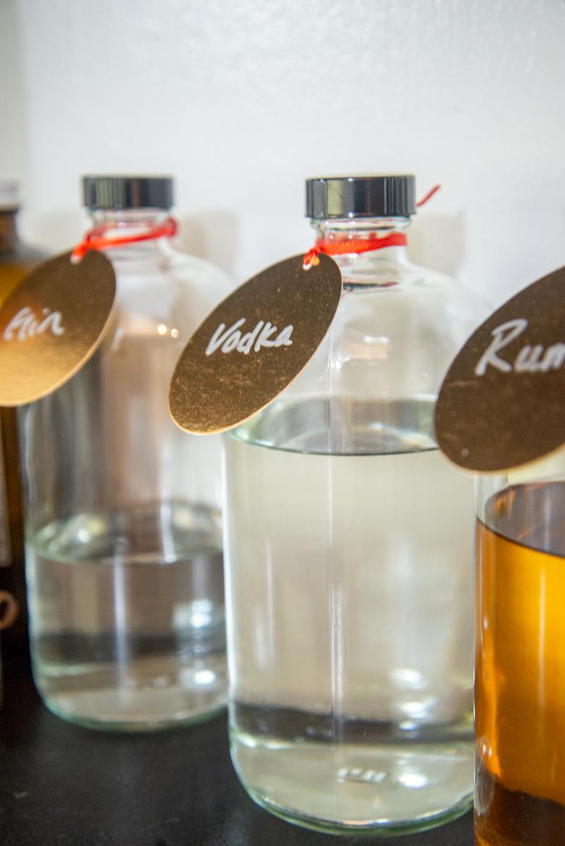 Kitchen DIY Alcohol Labels