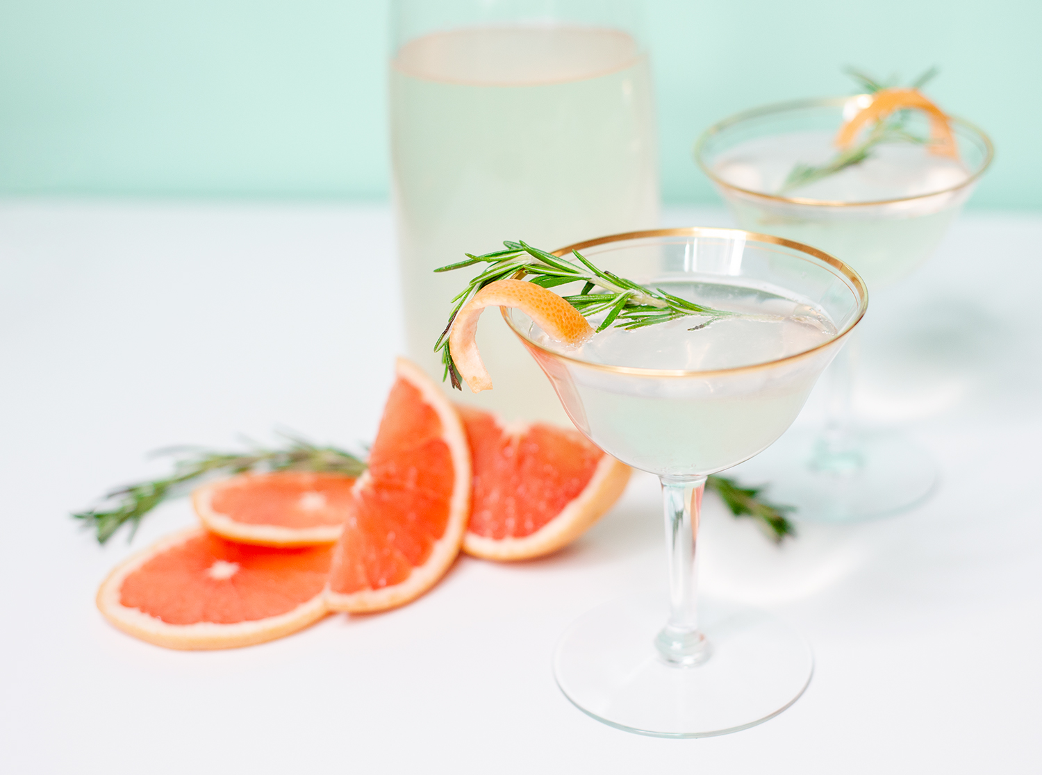 Easter Elderberry Grapefruit Mimosa