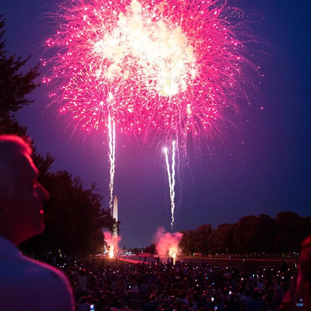My mom and I ventured to DC last year for the best fireworks I've ever seen in my life. We were front row and center along with the biggest group of diversity I've ever seen, plus there was no vip seating. #hoorayUSA #happy4thofjuly