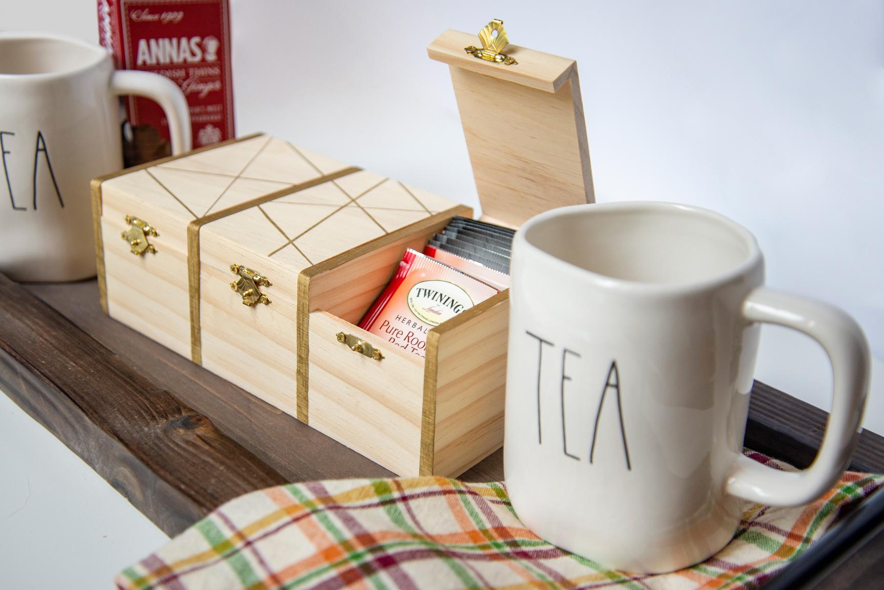 Hostess Gift DIY Tea Box Set