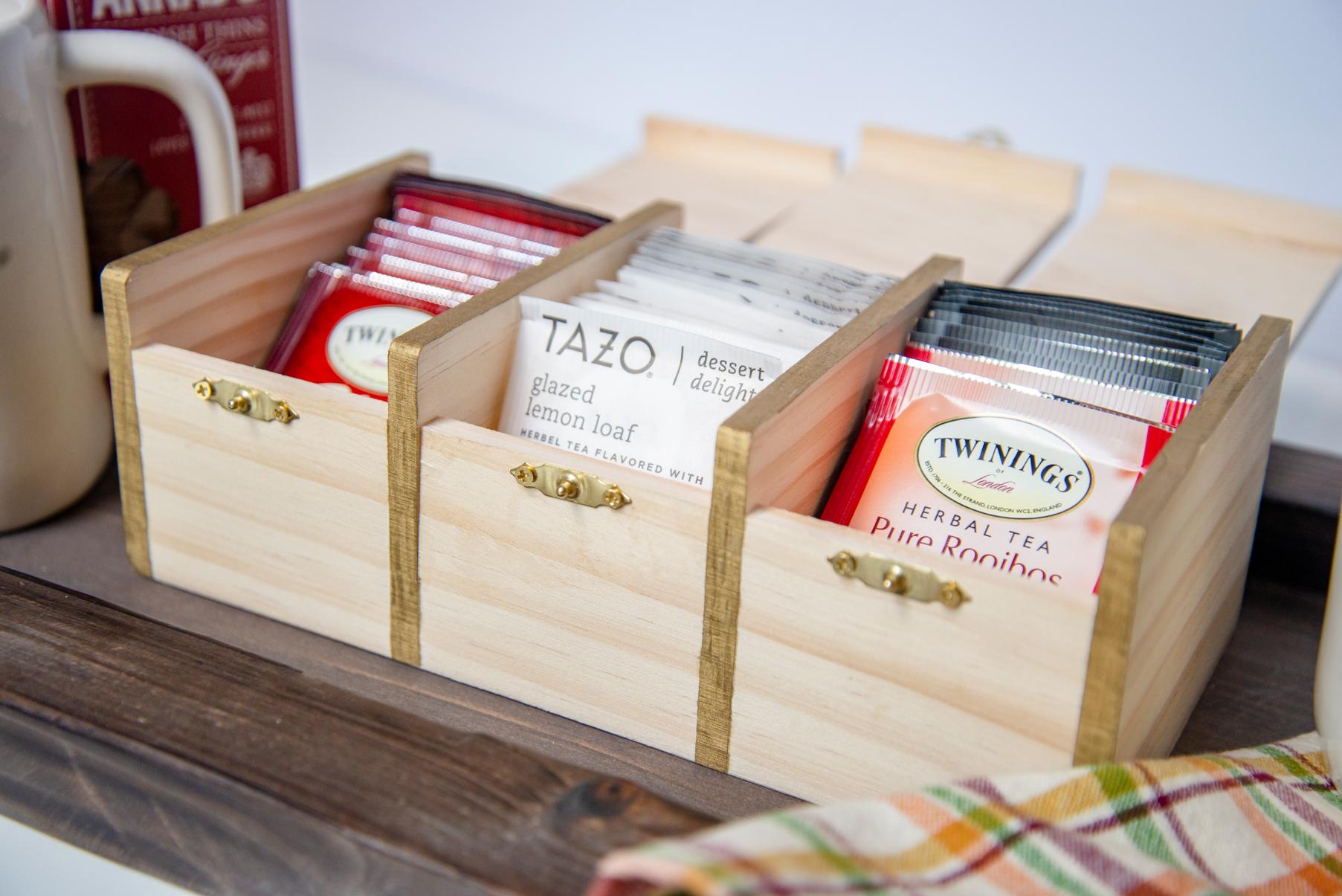 DIY Tea Box Tea Bags