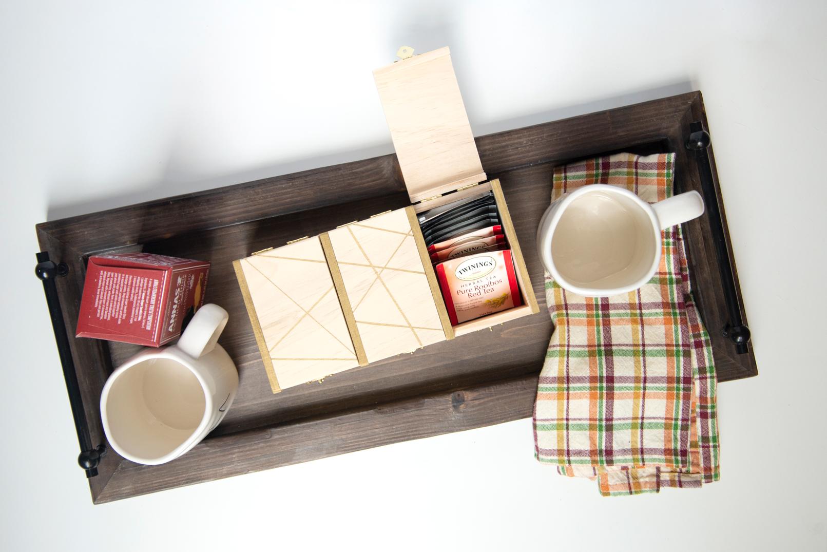 Hostess Gift DIY Tea Box