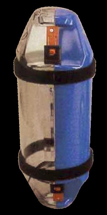 "6"" Side-opening Leak-resistant  Carrier"
