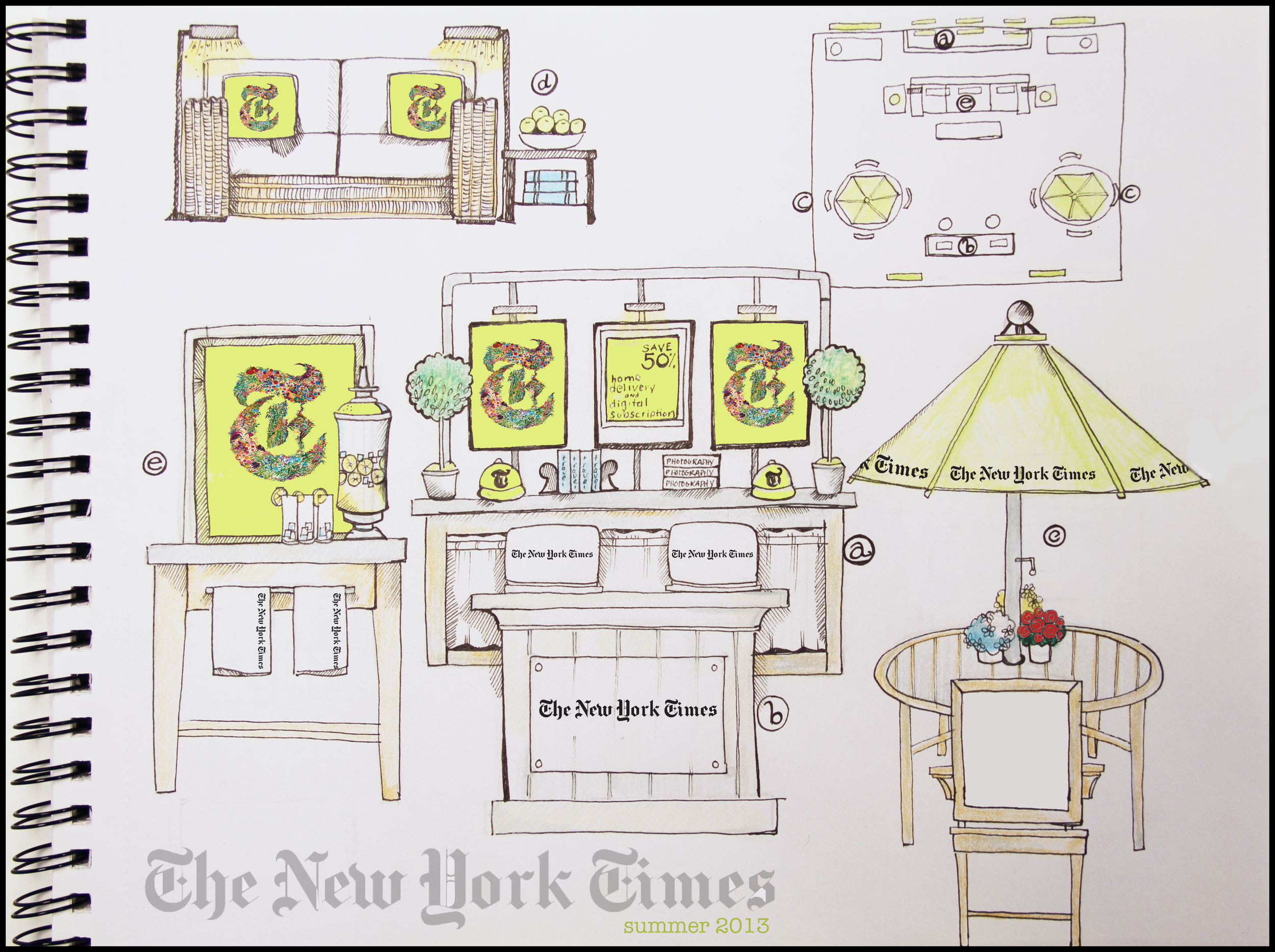 New York Times Marketing Space