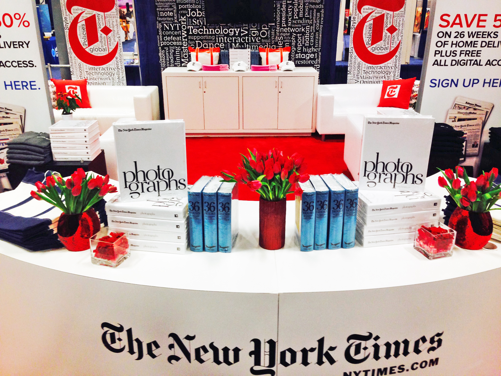 New York Times Pop Up Boutique