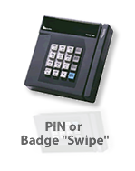 American Payroll Services can offer various punch collection options such as PINs, or Swipe badges