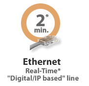 American Payroll Services Inc. offers Ethernet connectivity for time-keeping