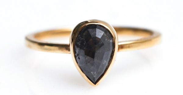 Arcatus Raw Diamond Carbon Ring