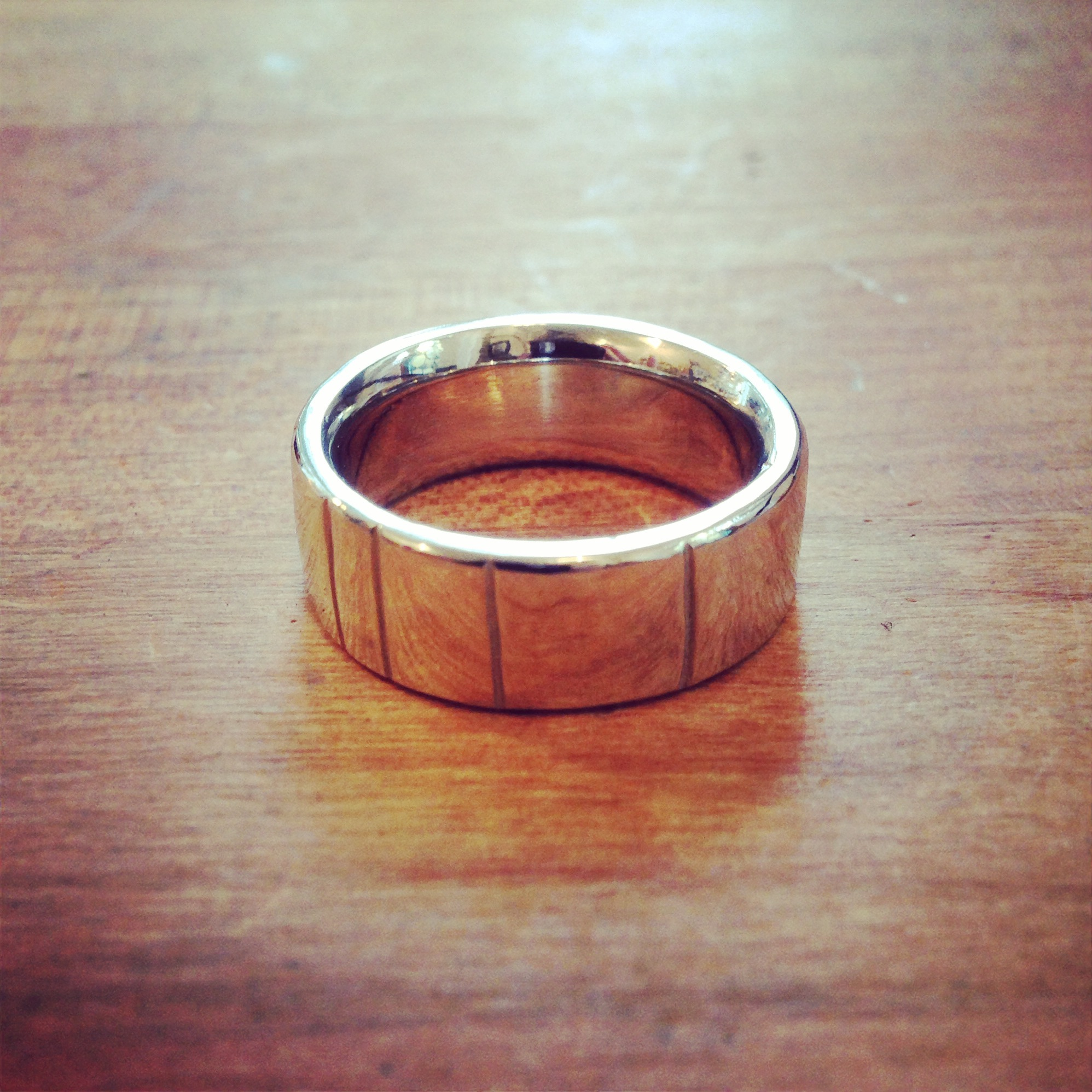 Men's wedding band.