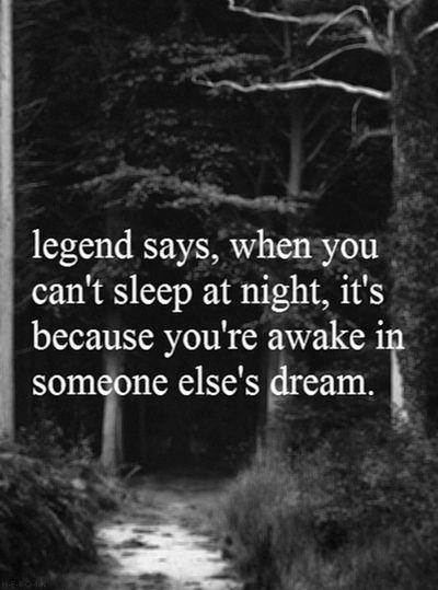When you're awake