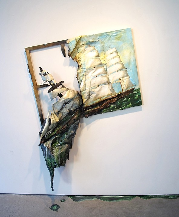 Valerie Hegarty. Sinking Ship