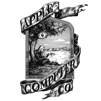 Logo design by Steve Jobs and Ronald Wayne