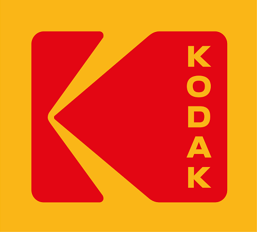 Kodak logo, reinstated and refined by Work-Order, 2016