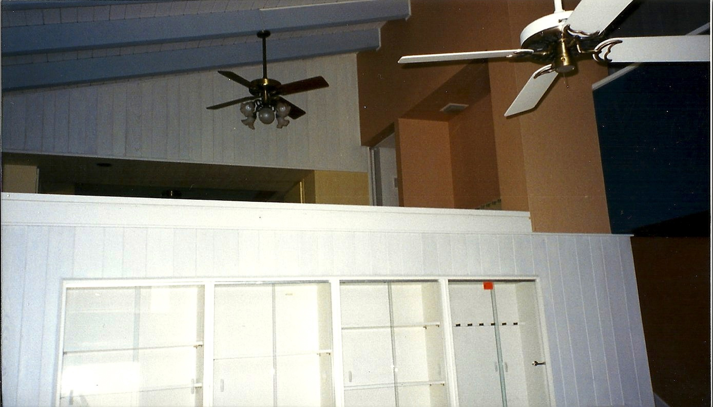 this is the balcony that the living room cabinet was lowered over-- it took 6 strong men!