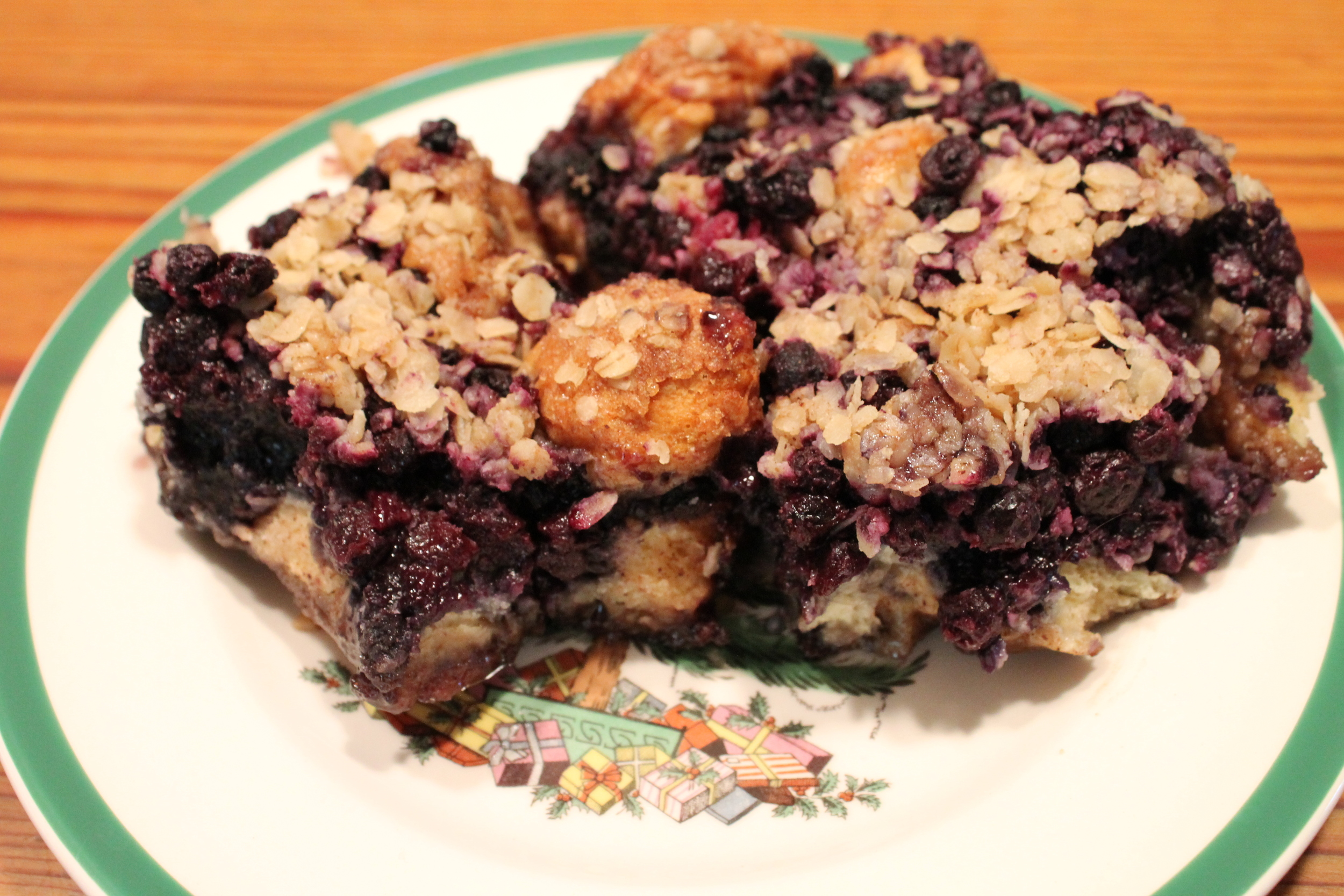 blueberry and biscuit coffee cake