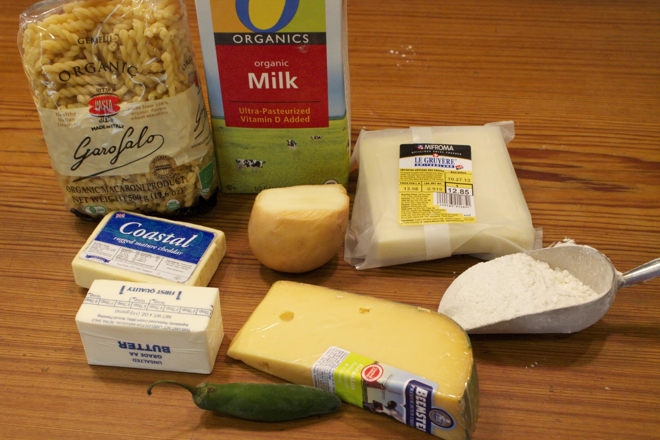 smoky macaroni and cheese