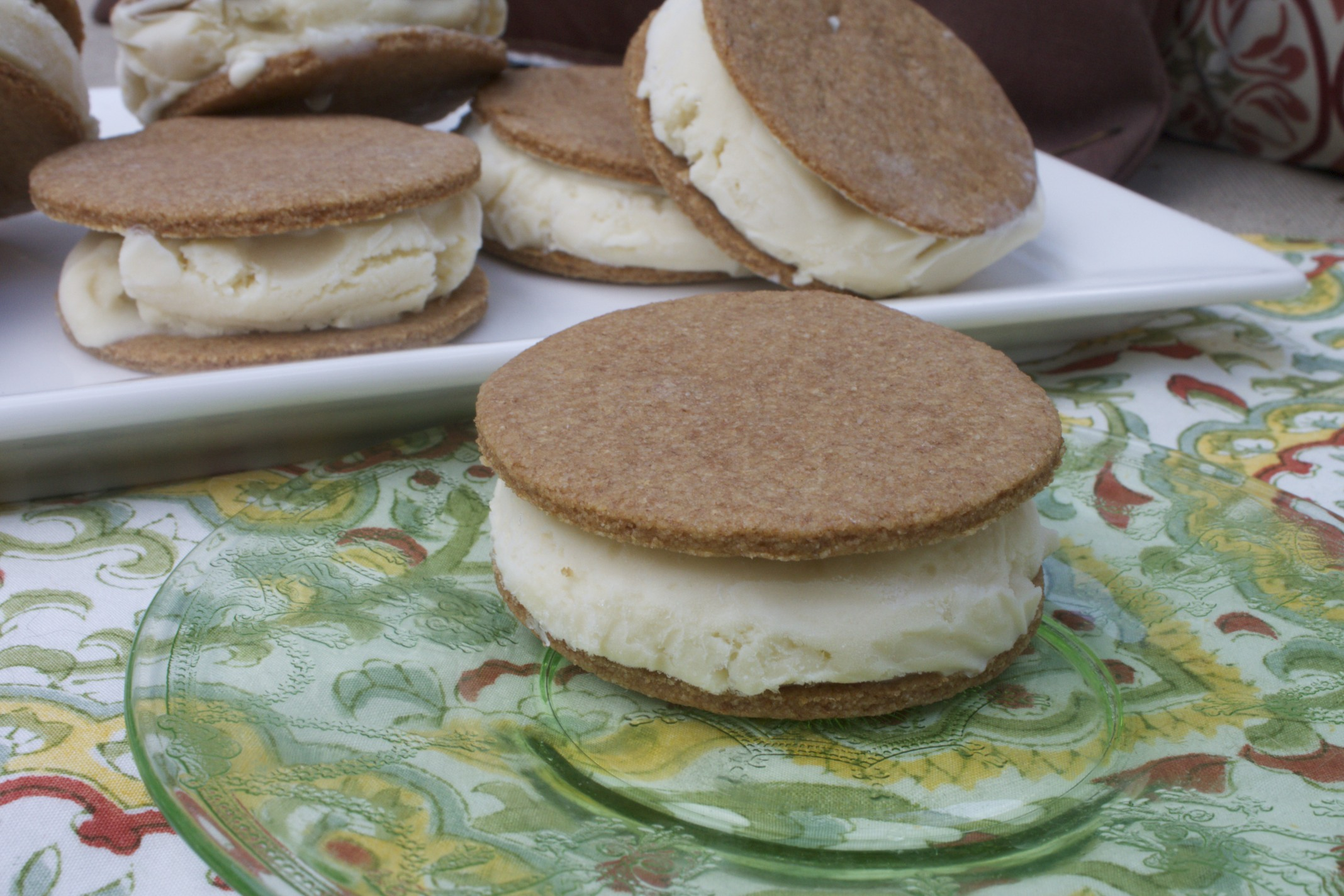 key lime ice cream sandwiches