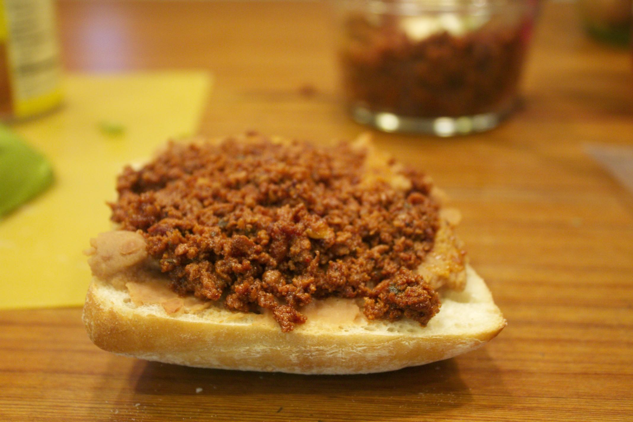 mexican breakfast sandwiches