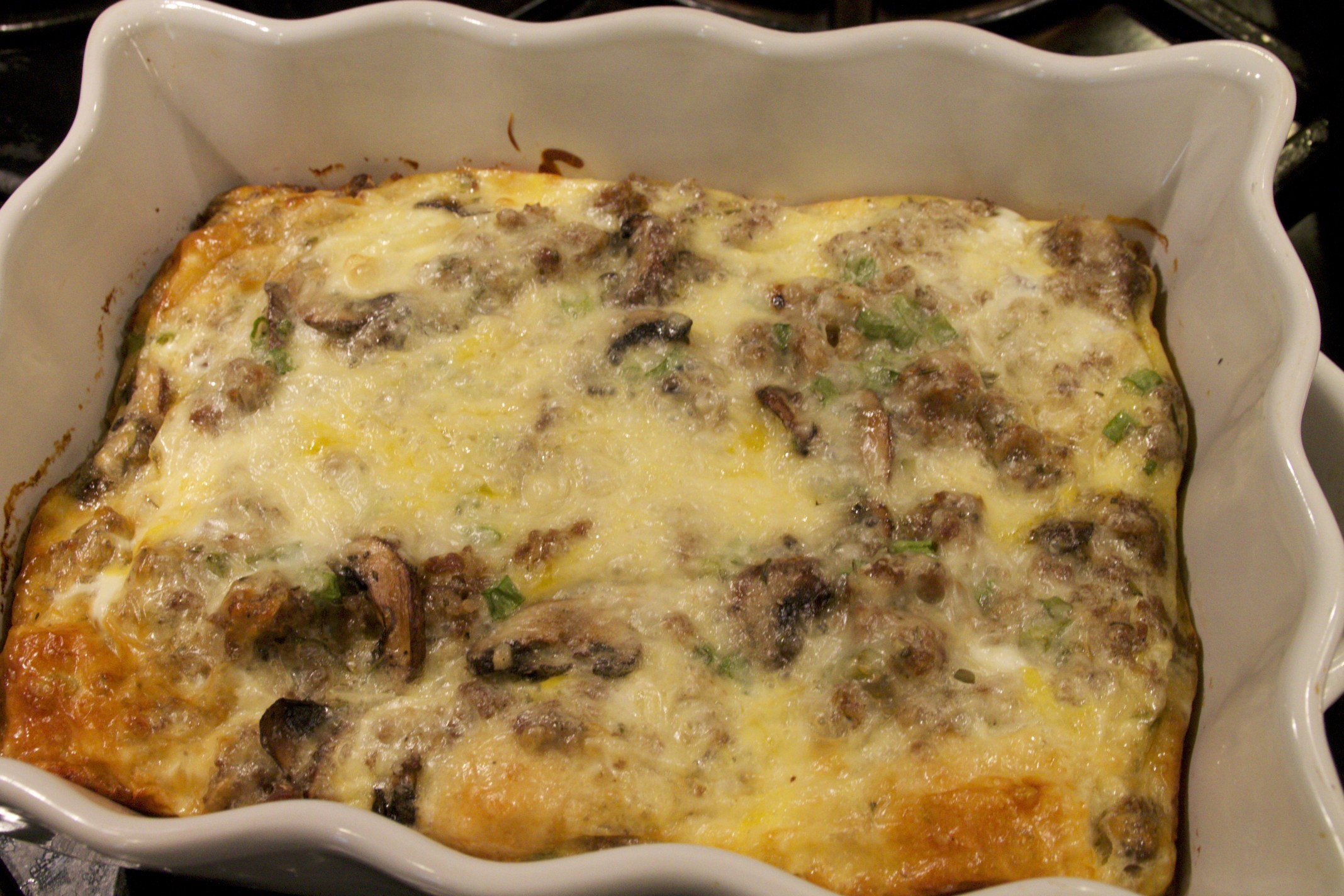 biscuit and egg breakfast casserole
