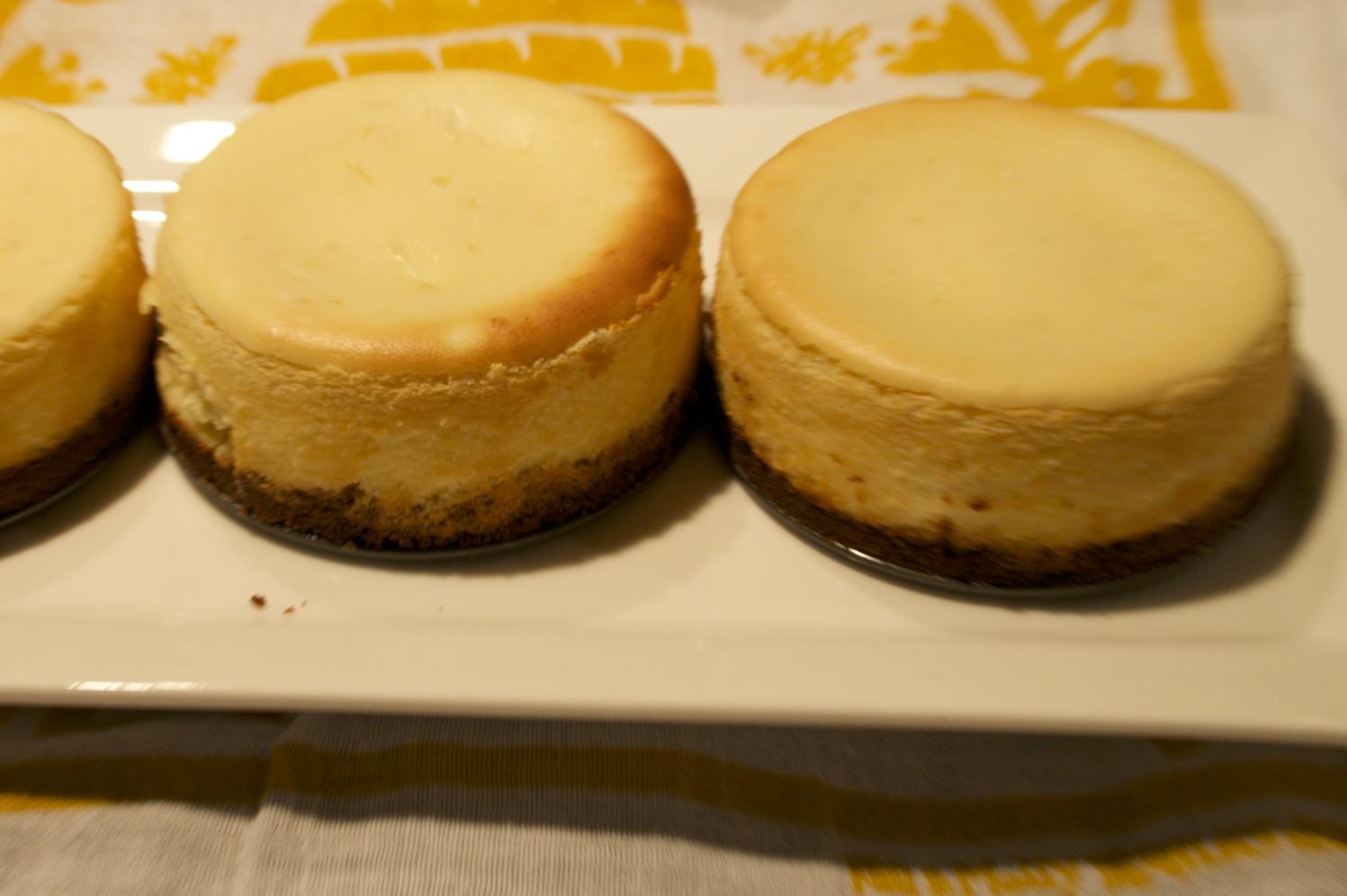 Meyer lemon cheesecake