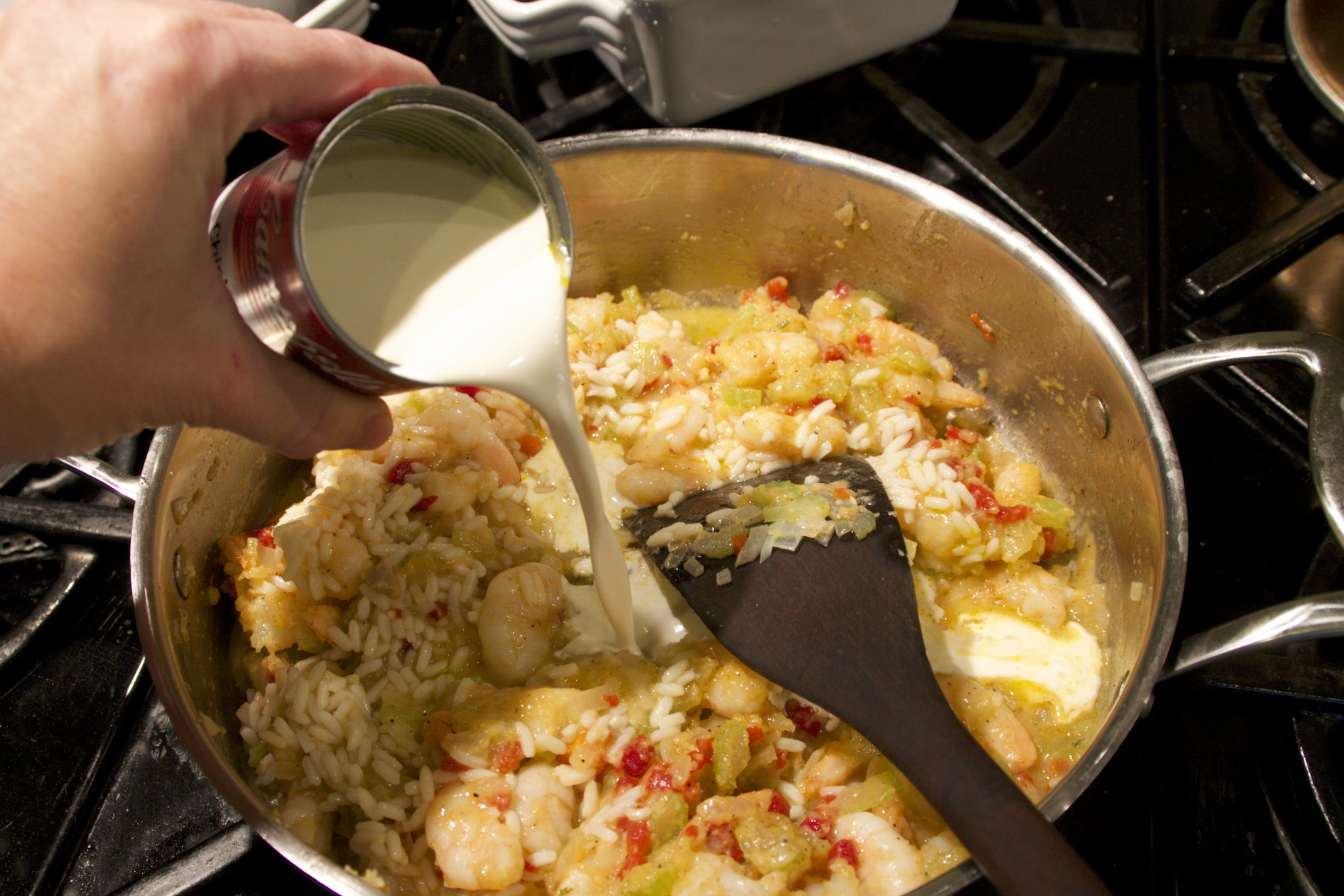 wild rice and shrimp casserole
