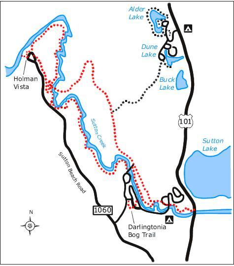 Sutton Trails Map