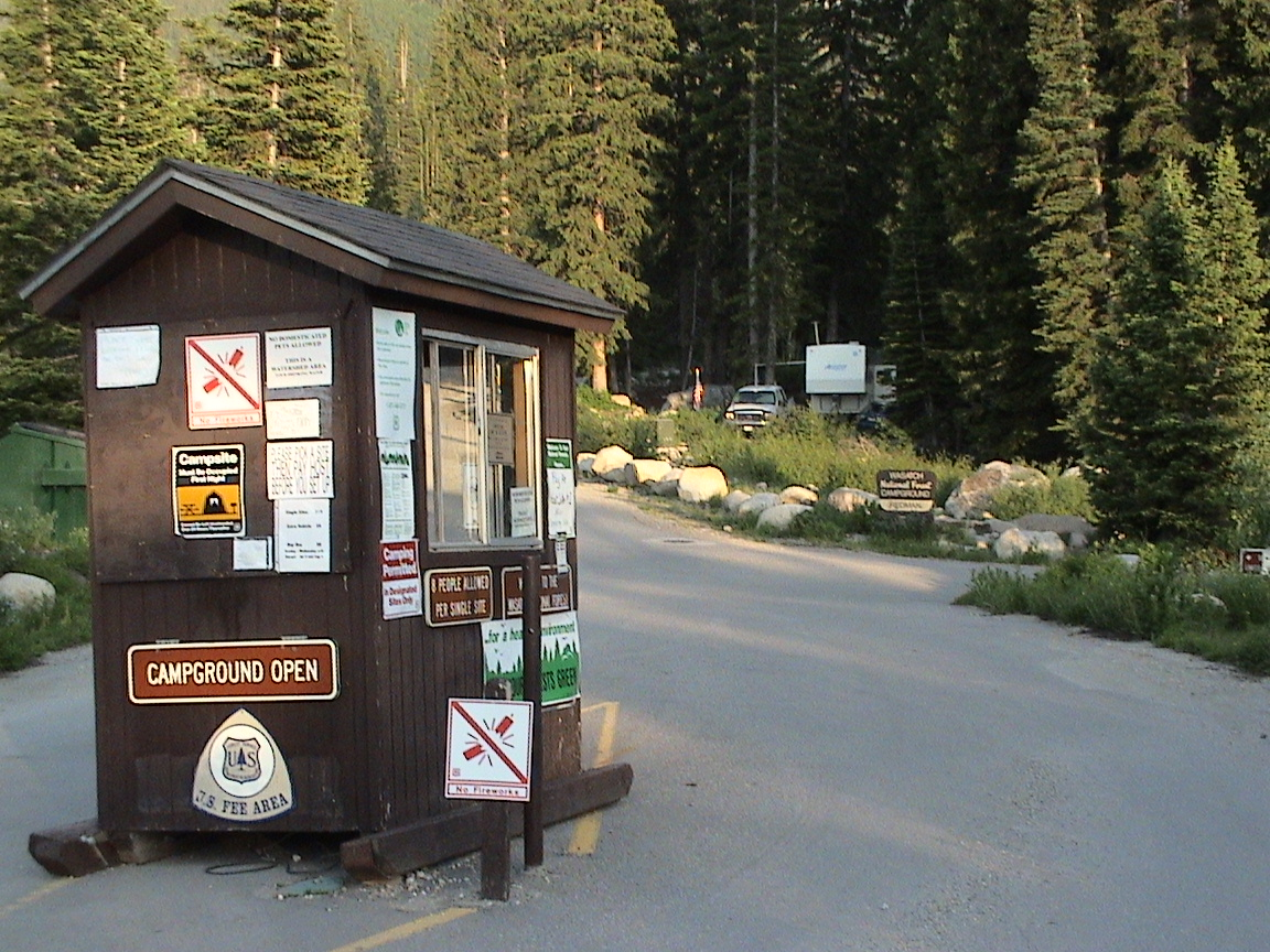 Host Site from Campground Entrance