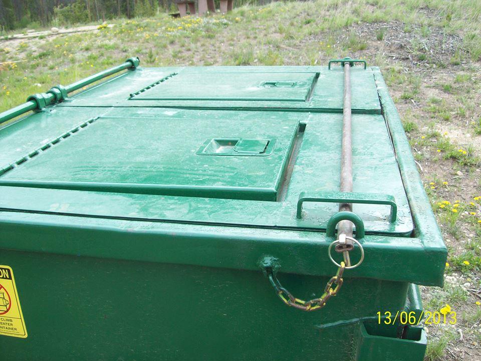 Bear Proof Dumpsters