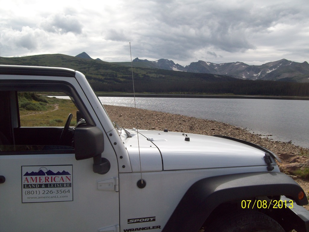 Left Hand Park Reservoir Overlook