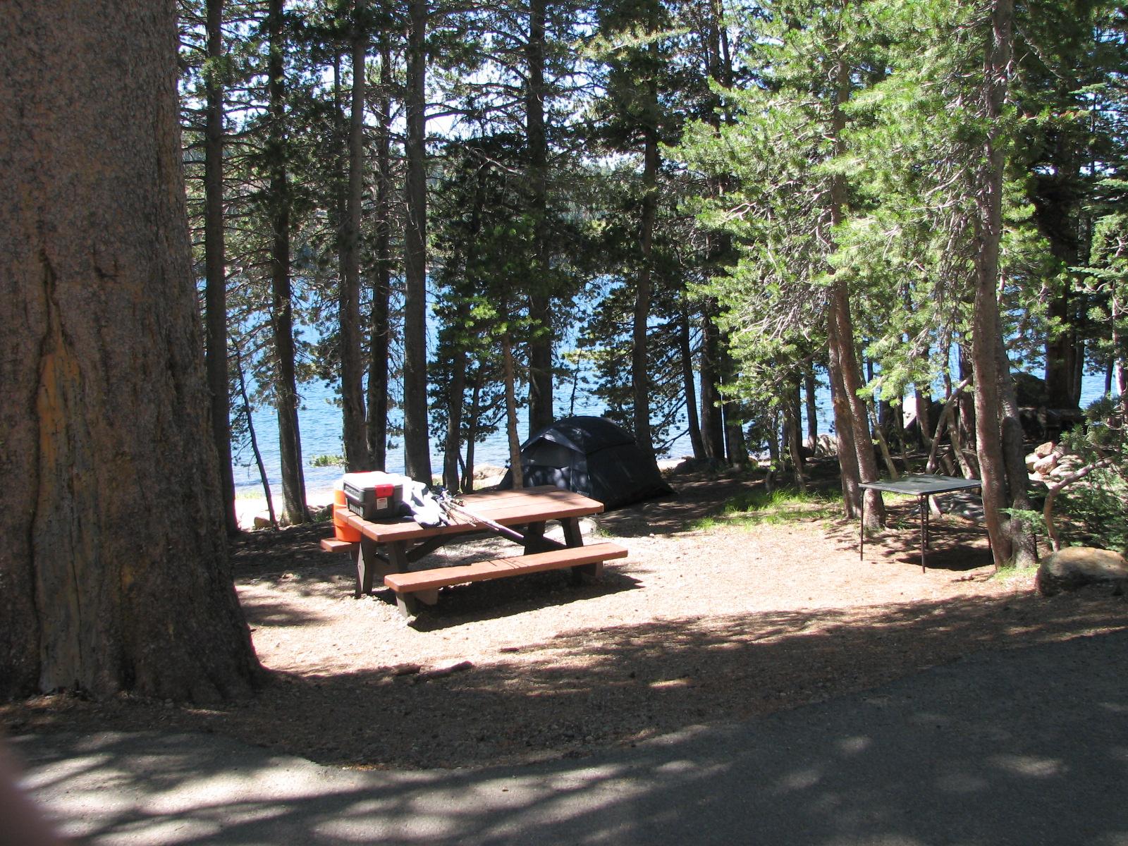 Lake overlook sites