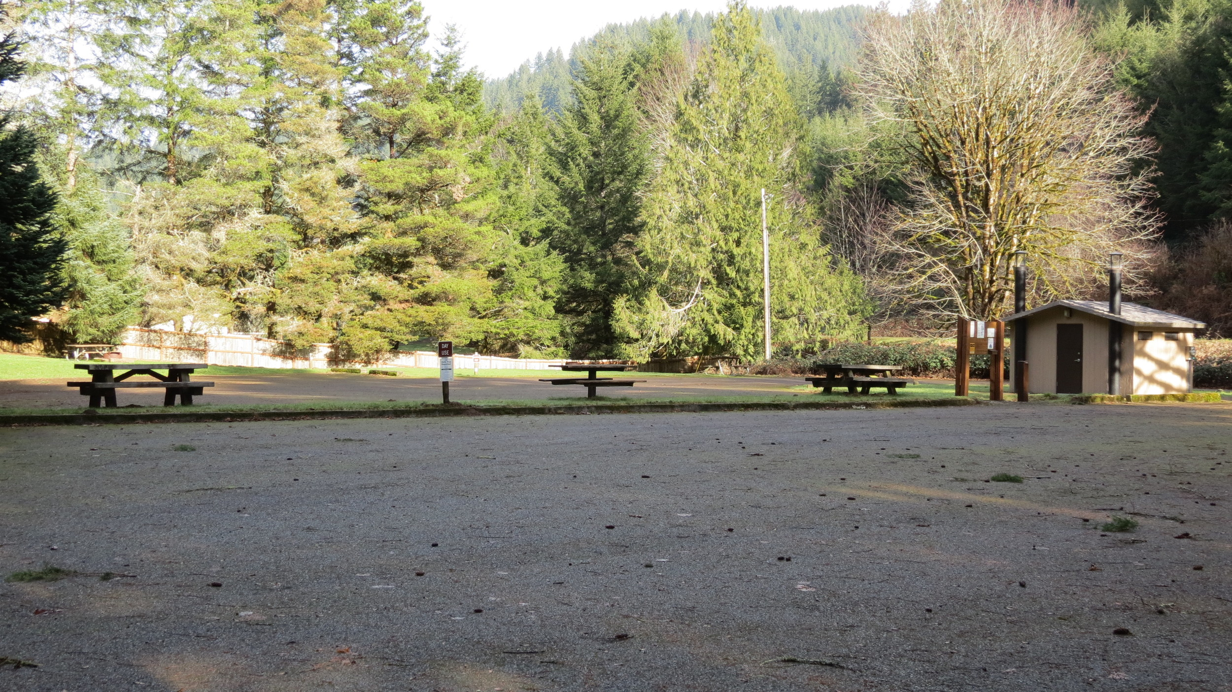 Blackberry Day Use Area, Alsea River,Siuslaw National Forest, CentralCoast Ranger District