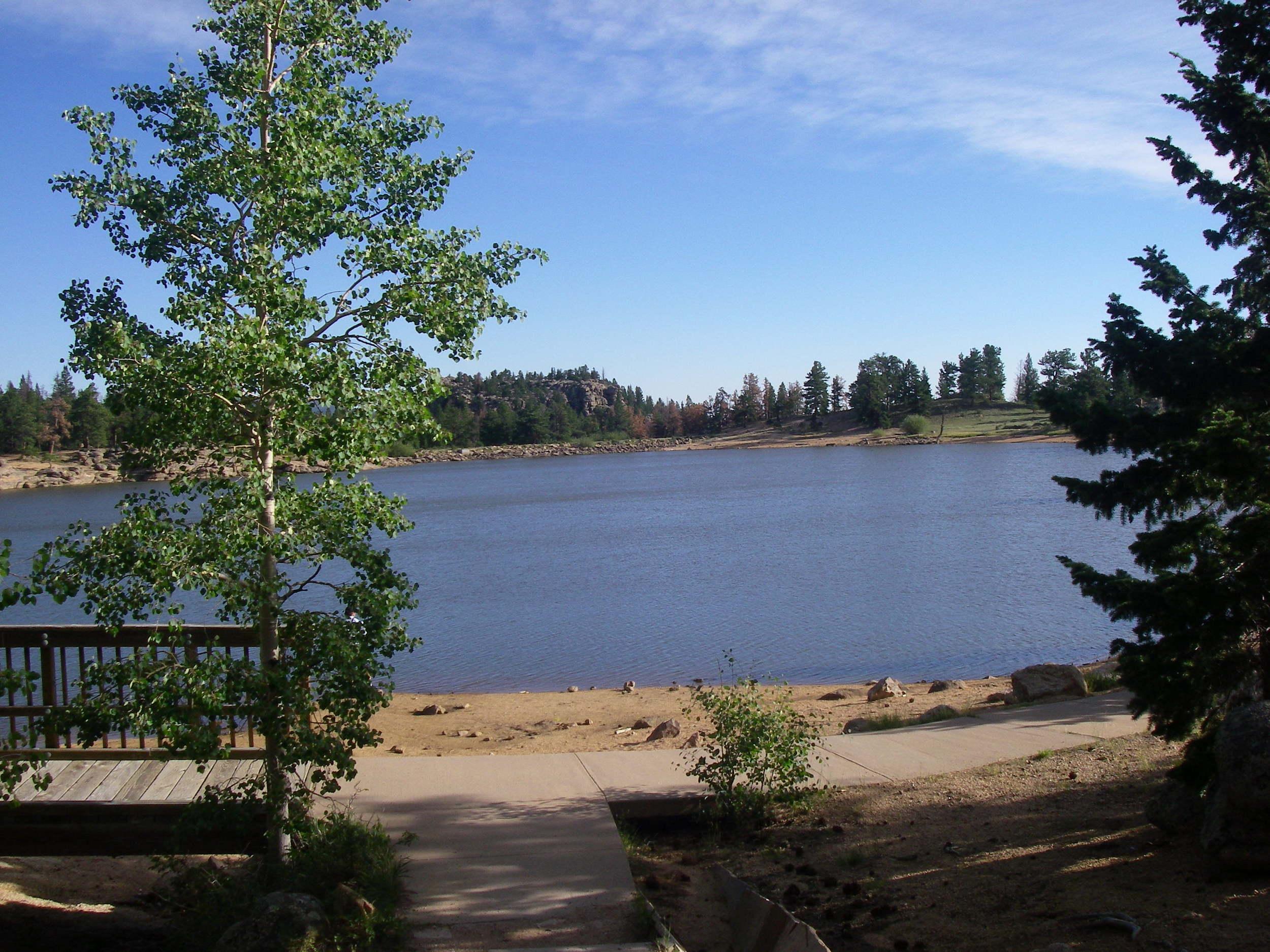 Bellaire Lake - boardwalk