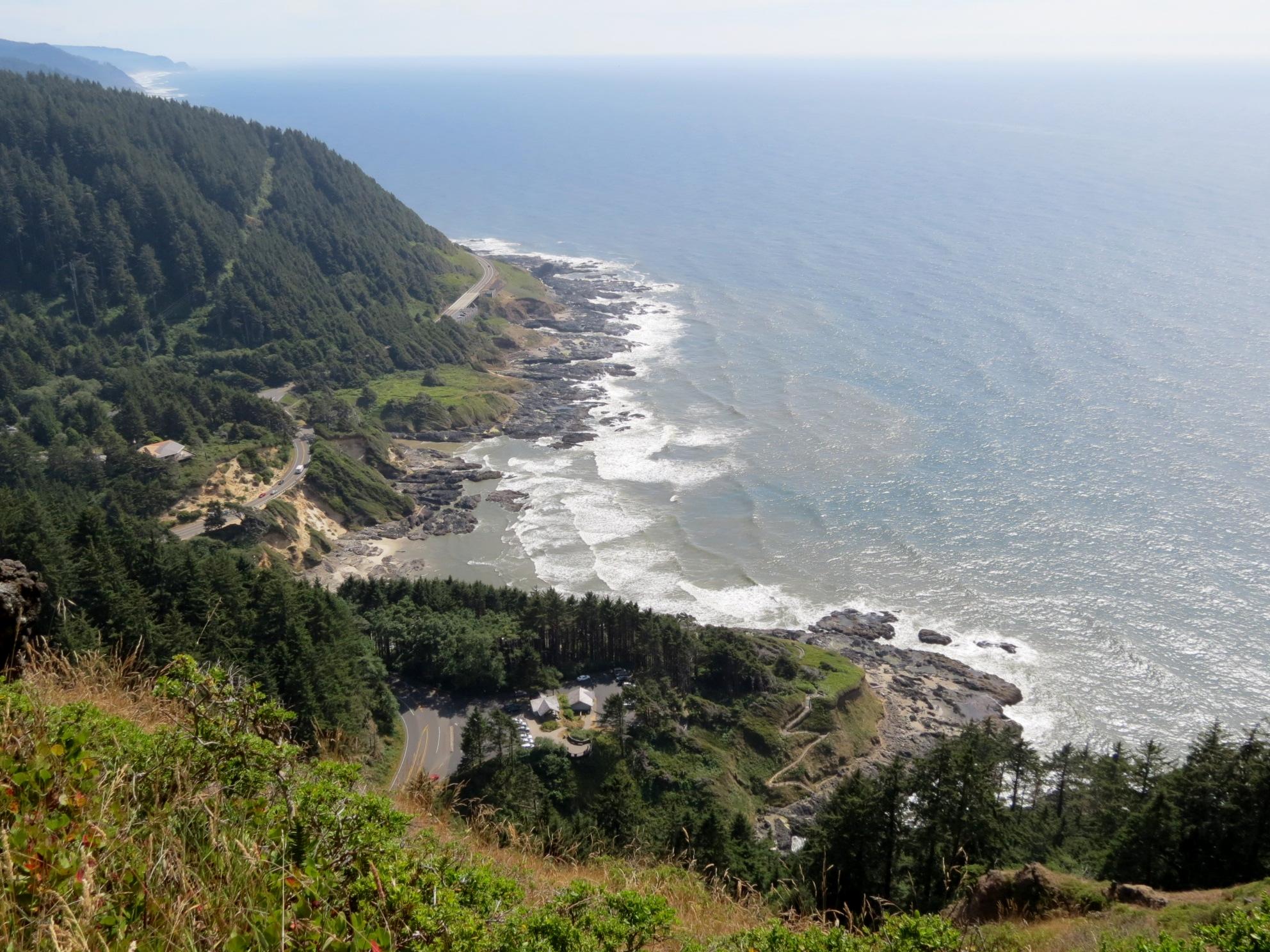 Cape Perpetua Overlook -800' above the Pacific Ocean