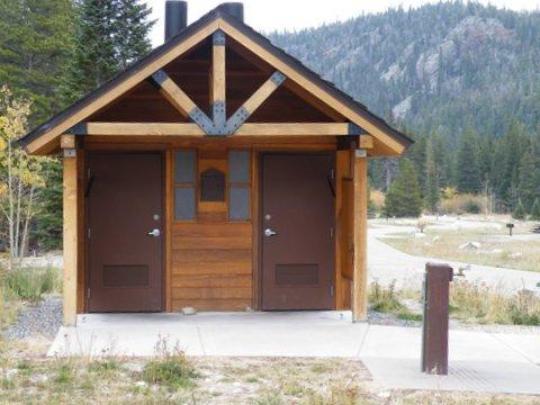 New vault restrooms