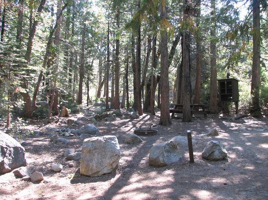 Stumpy Meadows Campground , Eldorado National Forest, near Georgetown, California