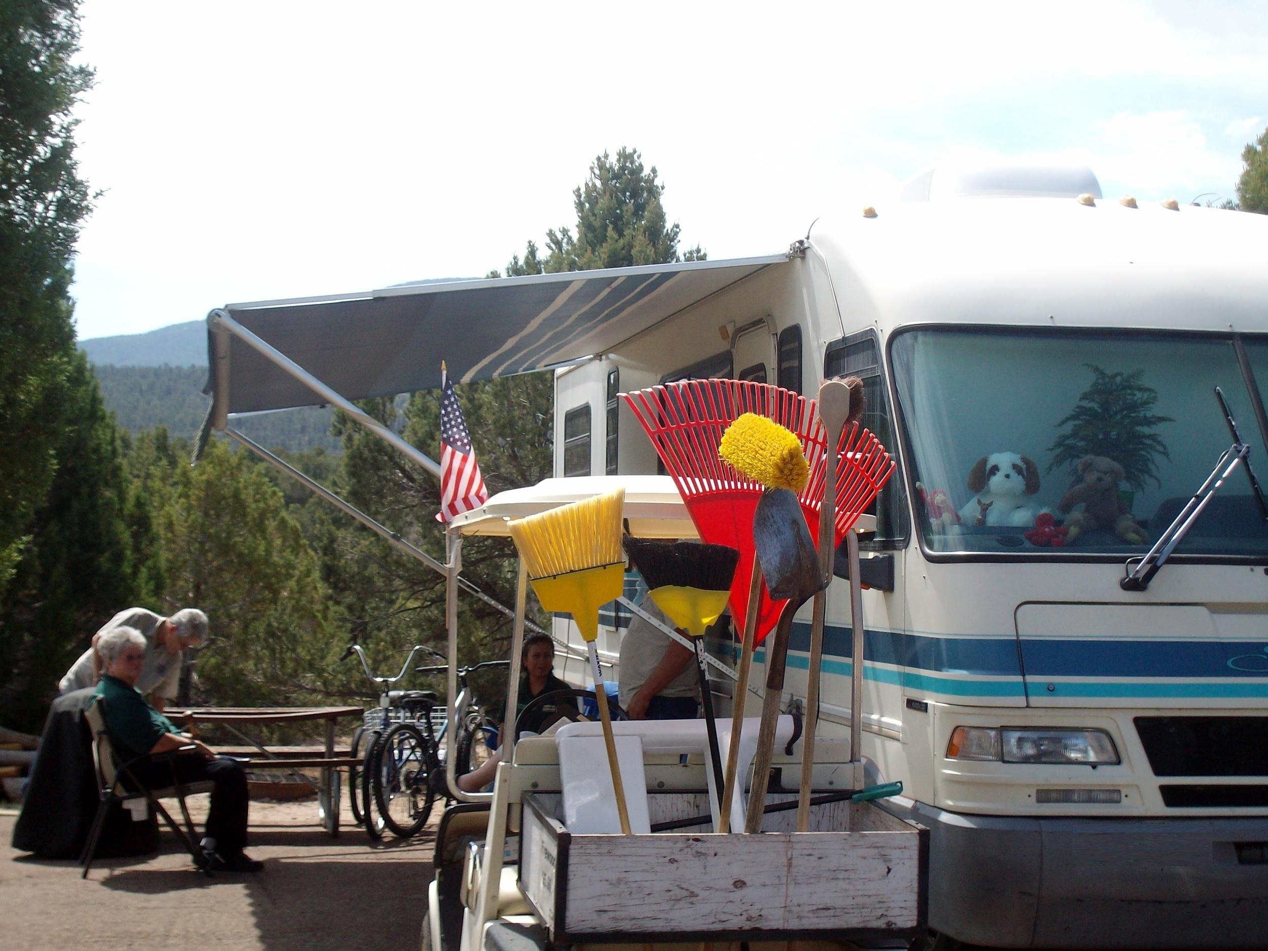 Host site in Deer Run Campground