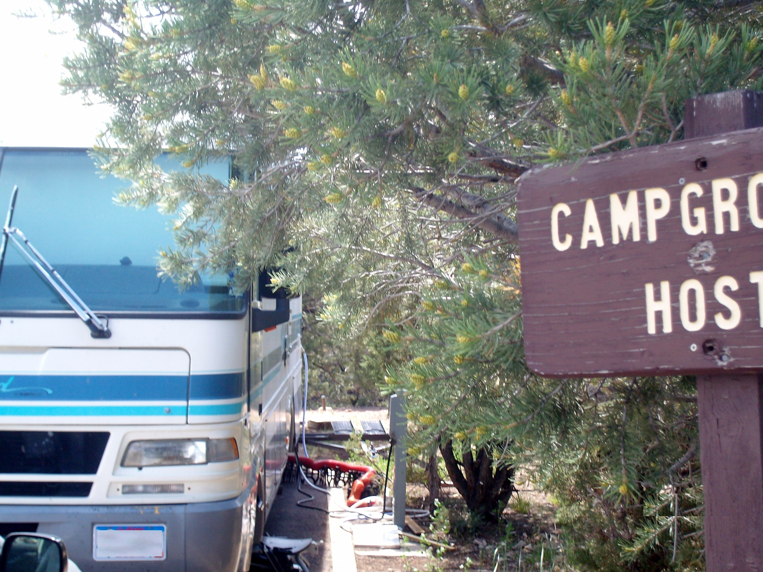 Full hookup Host Site at Deer Run Campground