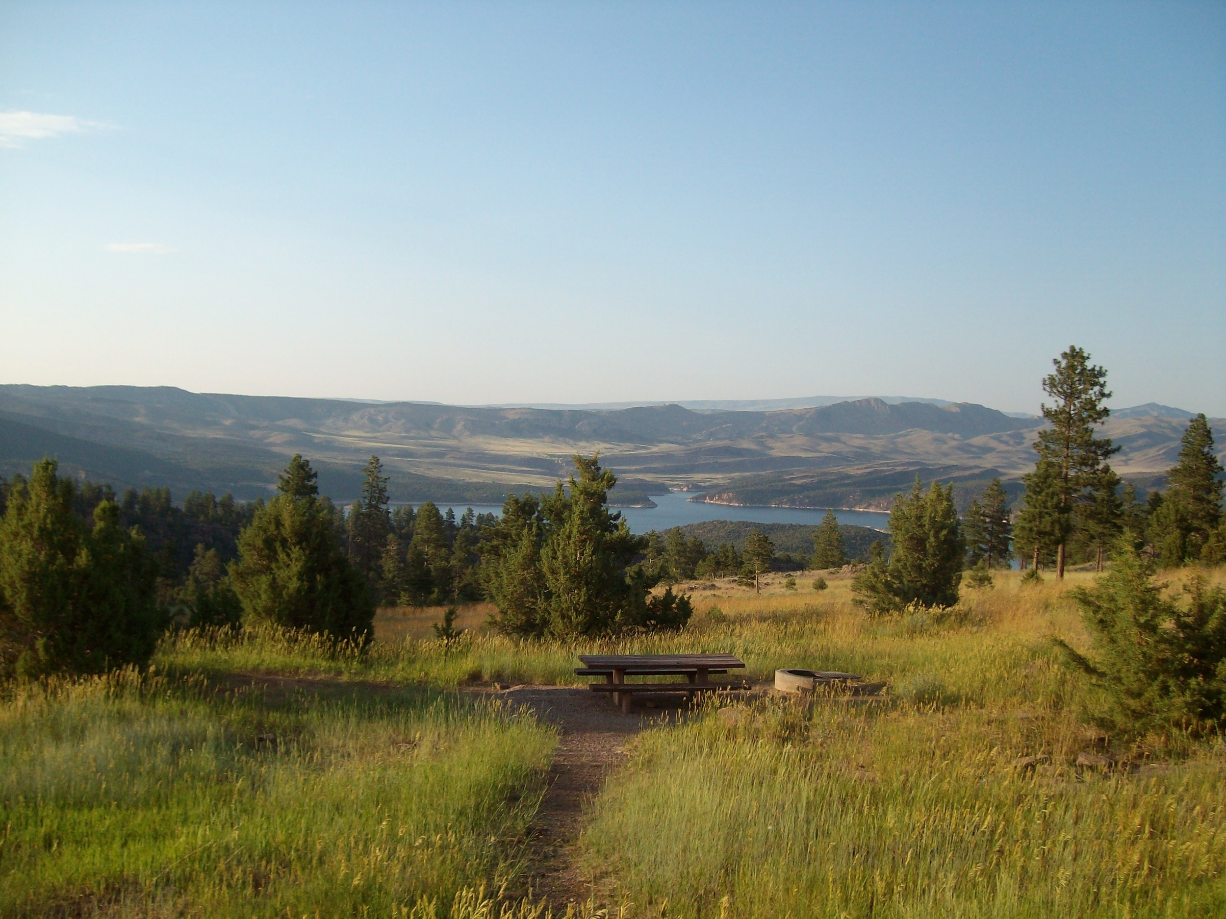 View of Flaming Gorge