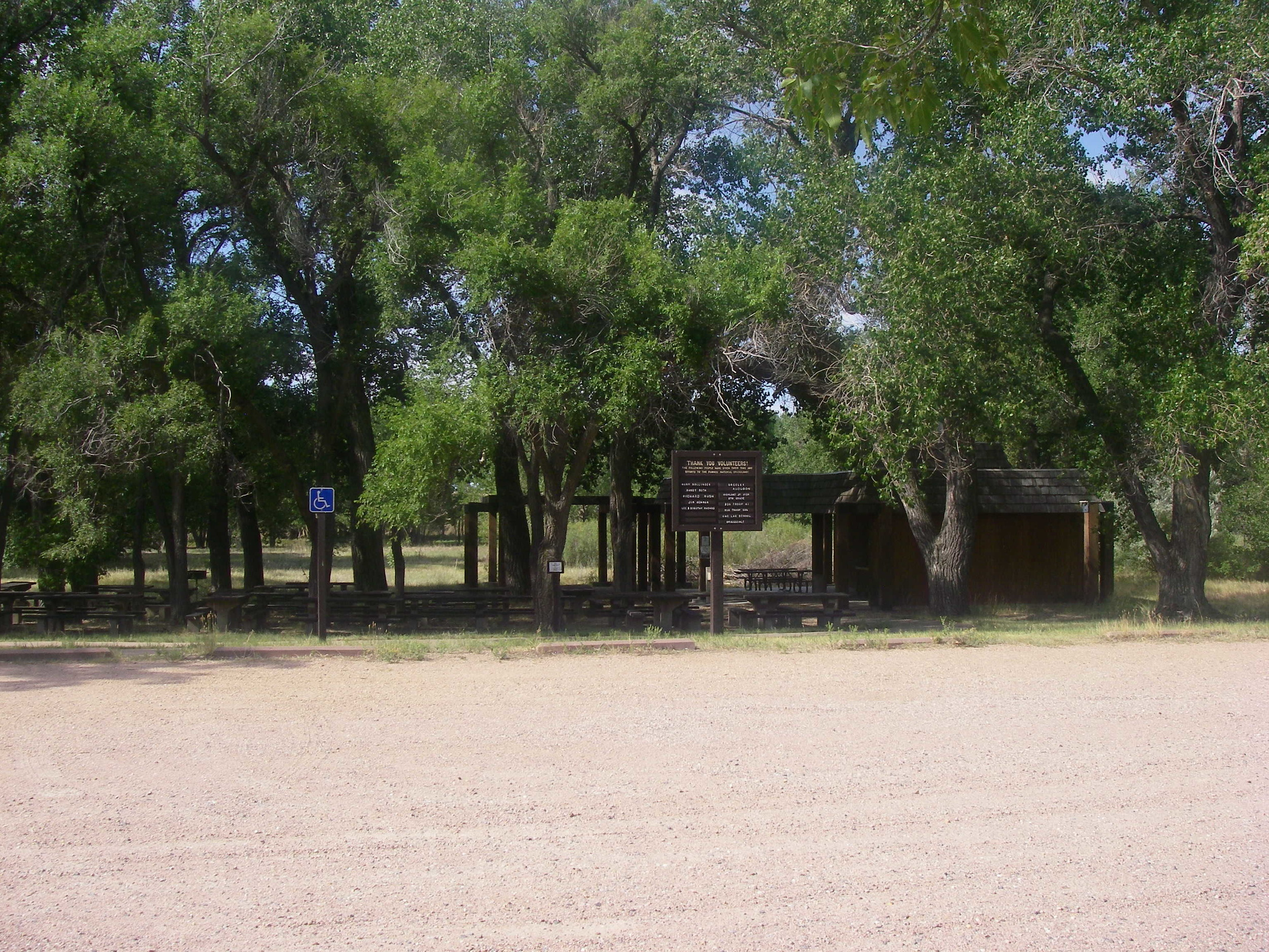 Group Picnic Area - Crow Valley Recreation