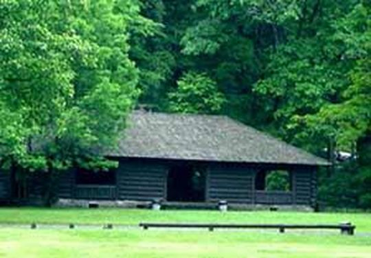 Large group picnic site with pavilion