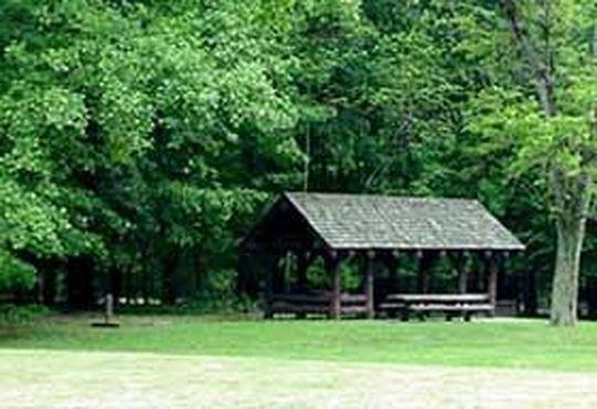 Alpena group picnic site with pavilion