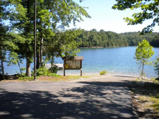 Boat Ramp in Holly Bay Campground, on Laurel River Lake, Kentucky