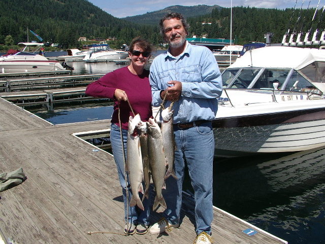 Tom and Cindy Bright, Area Managers 2013-2014, Sam Owen Campground, American Land & Leisure