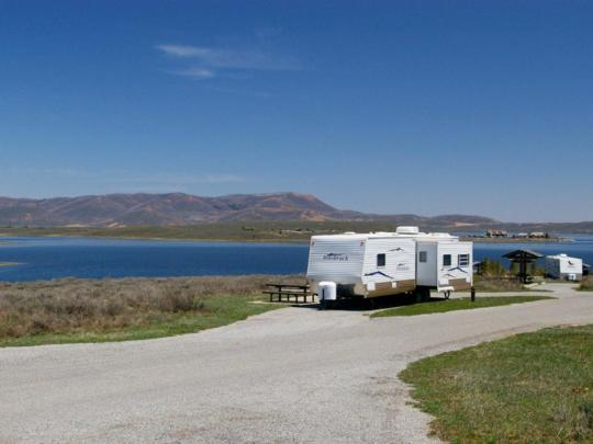 Strawberry Bay Campground, Strawberry Reservoir, near Heber City, Utah