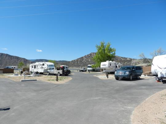 Lucerne Campground - RV friendly, on the shores of Flaming Gorge Reservoir