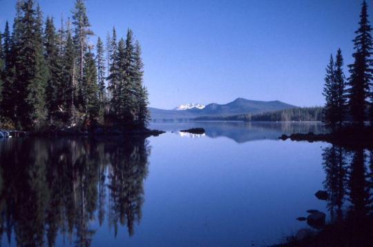 North Waldo Lake near Oakridge, OR