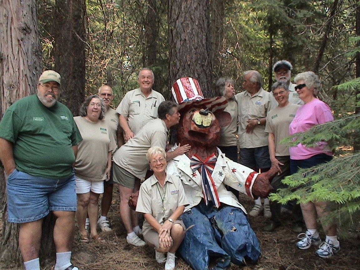 PG&E, Rocky Point Campground, Lake Almanor, California