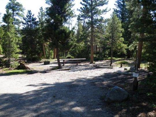 Level campsites