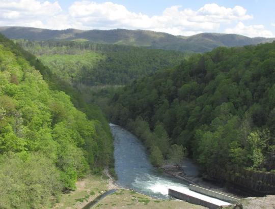 Gathright Dam, Jackson River