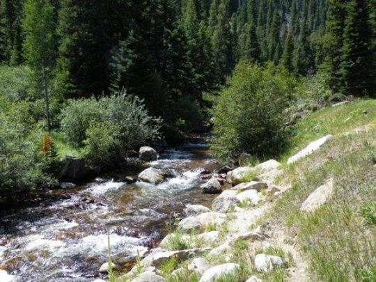 Middle St Vrain Creek